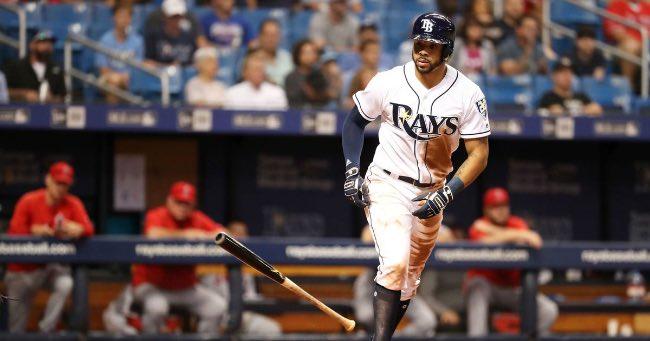 Tampa Bay Rays. Resumen temporada 2018 mlb beisbol Tommy Pham, llegado a mediados de 2018 de St. Louis (FOXSports)