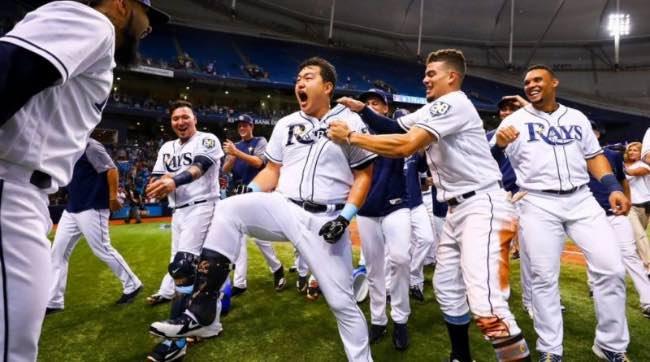 Tampa Bay Rays. Resumen temporada 2018 mlb beisbol