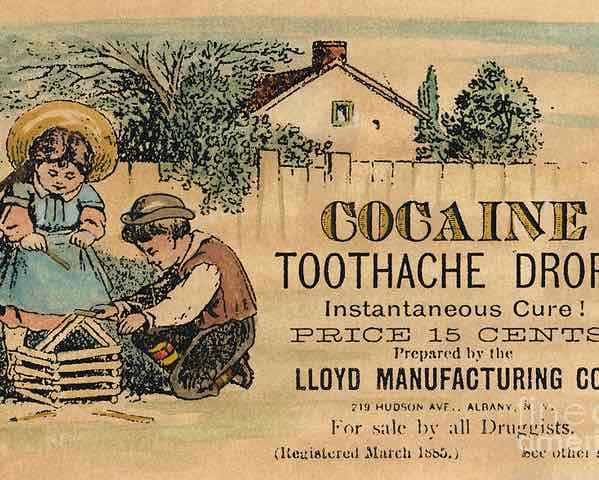 épocas del béisbol Sabermetrics anuncio de cocaina