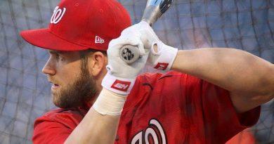 ¿Deberían los Nationals firmar a Bryce Harper en la agencia libre? mlb beisbol