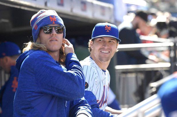 Con deGrom y Syndergaard los Mets tienen un dúo abridor imparable / New York Post