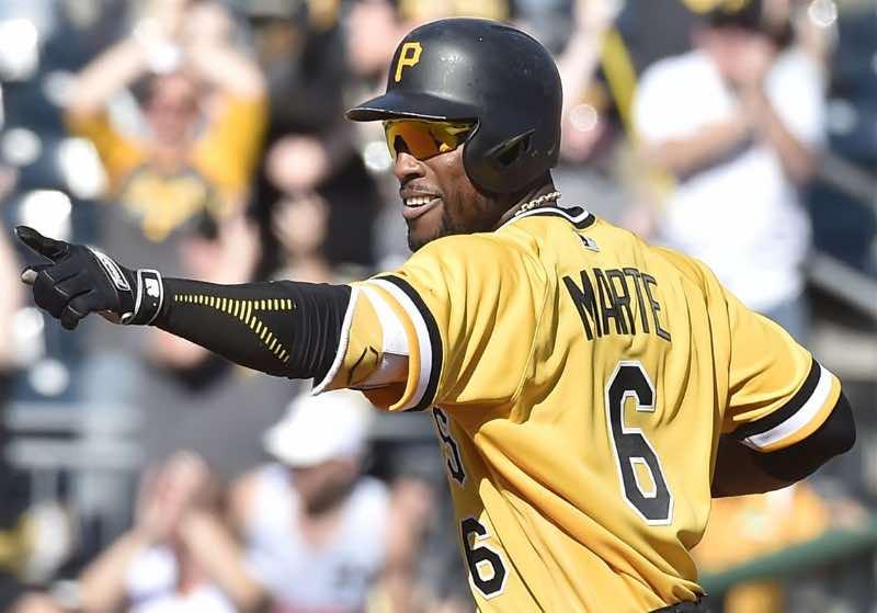 Pittsburgh pirates 2019 beisbol mlb beisbolmlb Starling Marte, CF de los Pirates, de quien se esperan grandes actuaciones al bate en este 2019. (Fuente: Pittsburgh Post-Gazette)