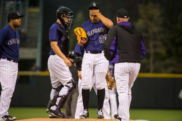 los problemas crecen beisbol mlb beisbolmlb colorado rockies pierden