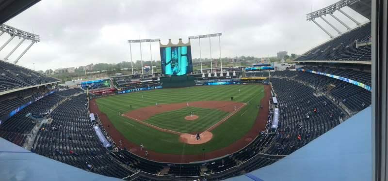 Mejor equipo hasta abril 2019 en la MLB kauffman stadium kasas city royals