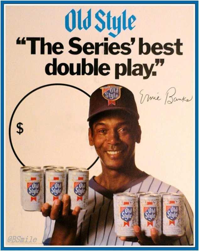 """Ernie Banks vida y milagros de """"Mr. Cub"""" cerveza beer birra"""