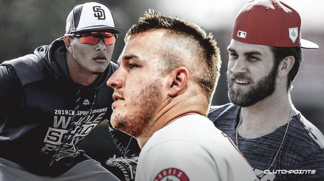 grandes contratos mlb beisbol mlb beisbolmlb manny machado mike trout Nolan arenado bryce harper