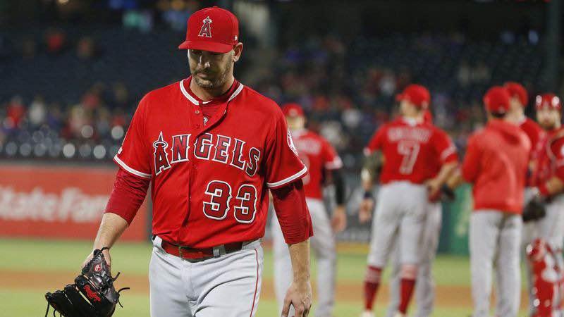 primer tercio de temporada los angeles angels matt Harvey