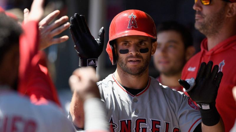 Tommy La Stella primer tercio de temporada los angeles angels beisbol mlb beisbolmlb
