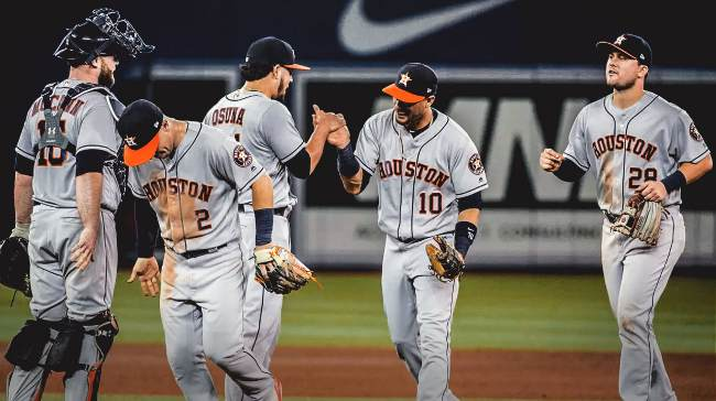 la normalidad liga americana mlb beisbol mlb beisbolmlb houston astros