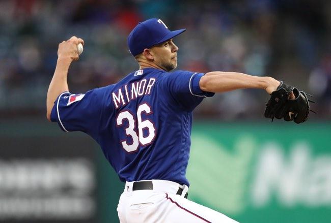 Mayo 2019, mejor equipo MLB hasta la fecha mike minor Texas Rangers beisbol mlb beisbolmlb