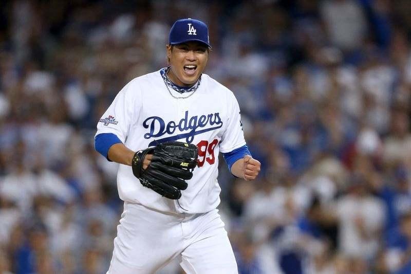 Hyun-Jin Ryu los dodgers beisbol mlb beisbolmlb