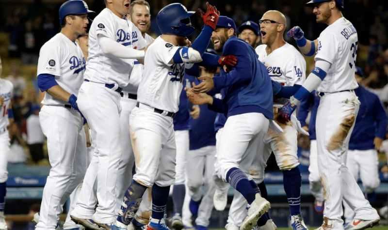 Walkoff Dodgers Mayo 2019 beisbol mlb beisbolmlb AP Photo/Marcio Jose Sanchez
