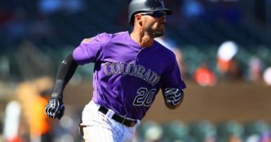 datos irrelevantes beisbol mlb beisbolmlb ian desmond colorado rockies home run más largo de la temporada