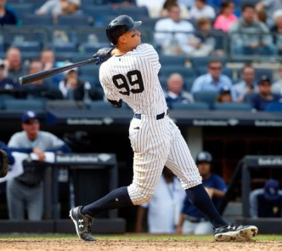 aaron judge new york yankees Previa de la Wild Card de la Liga Americana oakland athletics mlb 2018