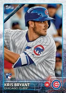 Kris Bryant rookie card 2015 Cromos de béisbol. Estabilización y actualidad: 2006 - 2017