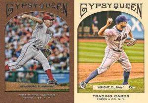 Strasburg y Wright en la primera edición de Gypsy Queen Cromos de béisbol. Estabilización y actualidad: 2006 - 2017