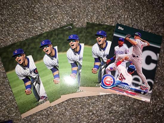 Javier Báez baseball cards Entrevista con One Million Cubs: en busca del millón de cromos