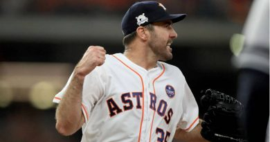 Justin verlander houston astros Cleveland indians mlb 2018 postemporada ALCS Game 1 Boston Red Sox