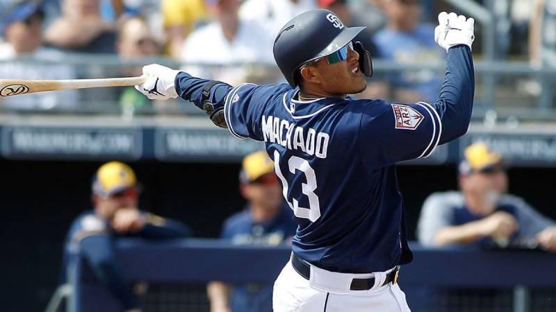 manny machado san diego padres 2020 beisbol mlb