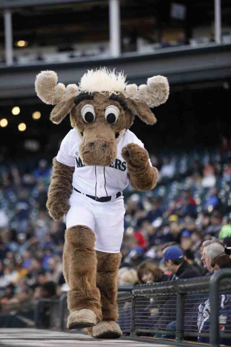 Mariner Moose mascota Mariners mlb en español beisbol