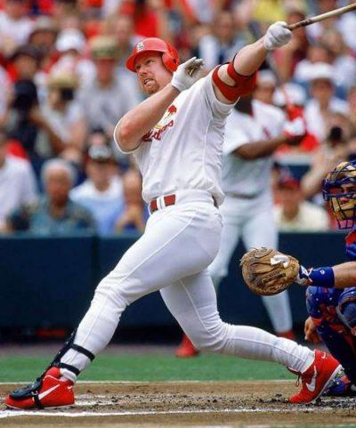 No. 90: Mark McGwire. Mejores jugadores de la historia del béisbol Cardinals
