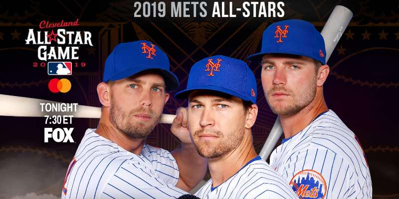 New York Mets, Resumen 2019 Los tres All Stars de los Mets en 2019 / MLB.com beisbol mlb