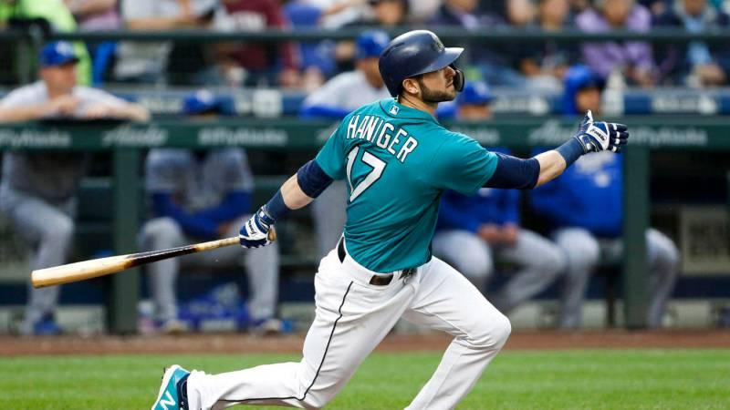 Mitch Haninger seattle mariners 2020 beisbol mlb