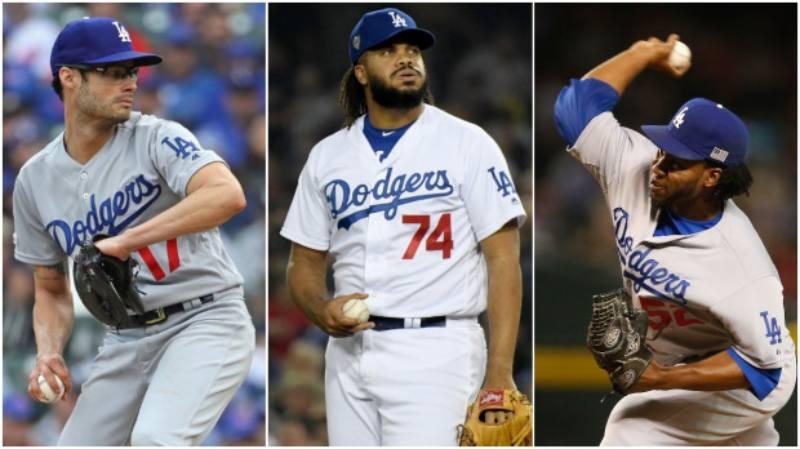 Dodgers bullpen 2020 beisbol mlb