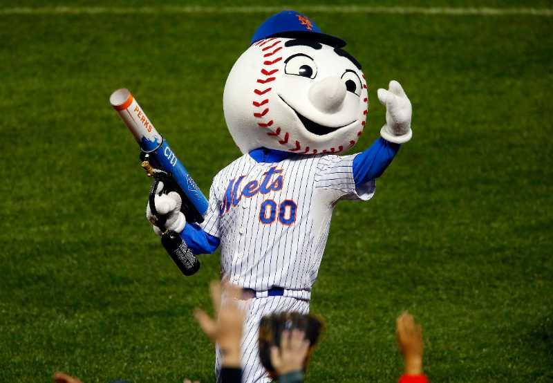 mr mr. met mascota new york mets mlb en español beisbol historia