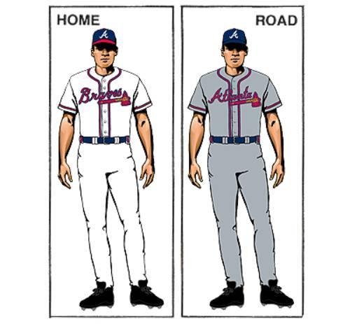 uniforme atlanta braves historia mlb en español beisbol