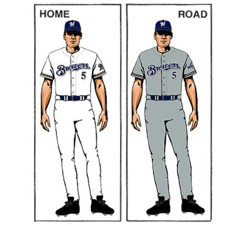 uniforme milwaukee brewers mlb en español beisbol