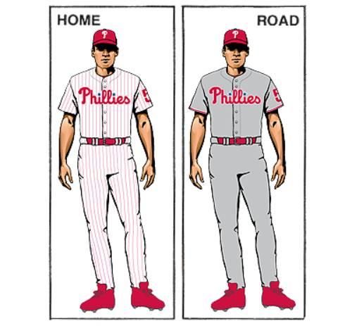 uniforme philadelphia phillies mlb en español historia beisbol
