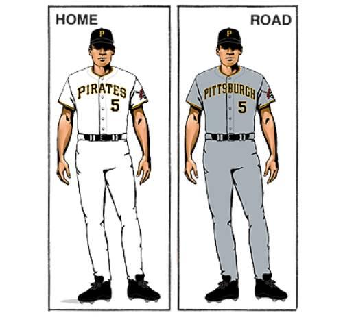 uniforme pittsburgh pirates mlb en español beisbol historia