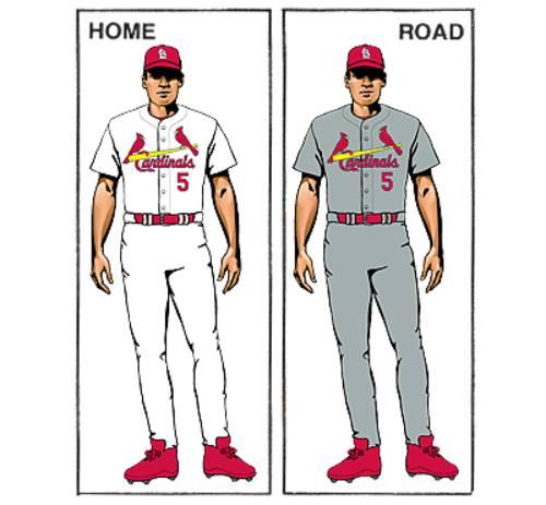 uniforme saint louis cardinals mlb en español beisbol historia