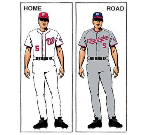 uniforme washington nationals mlb en español beisbol historia