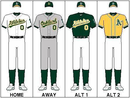 uniforma de los athletics mlb en español beisbol