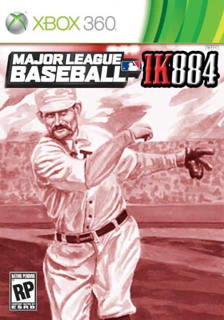 Old Hoss Radbourn. Mejores jugadores de la historia del Béisbol Old Hoss portada de un juego de XBOX