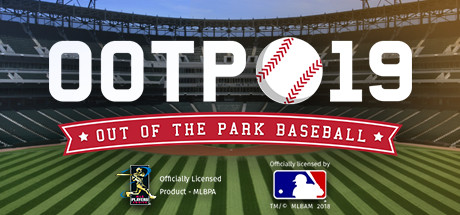 Logotipo del videojuego Out of the Park Baseball 19 OOTP
