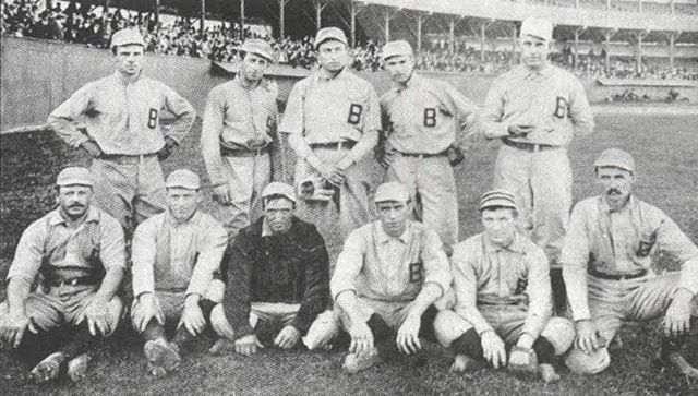 los orioles baltimore 1898 siglo XIX diecinueve beisbol mlb