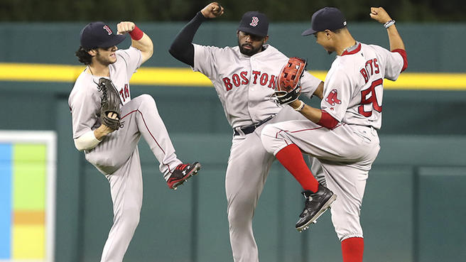 Jardineros para la temporada MLB 2019 Boston red sox outfield beisbol mlb beisbolmlb
