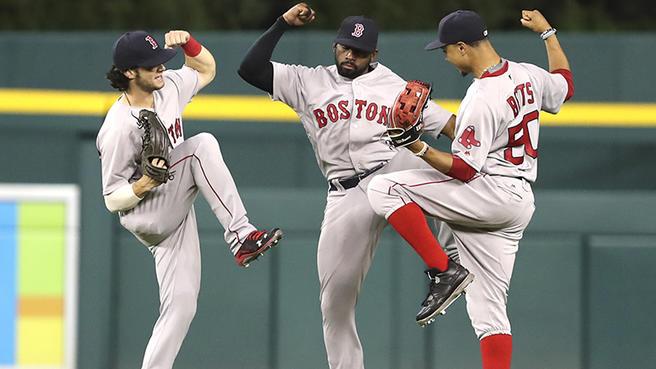 Jardineros para la temporada MLB 2019 Boston red sox outfield beisbol mlb beisbolmlb