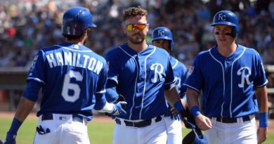 a solo un mes kansas city royals beisbol mlb
