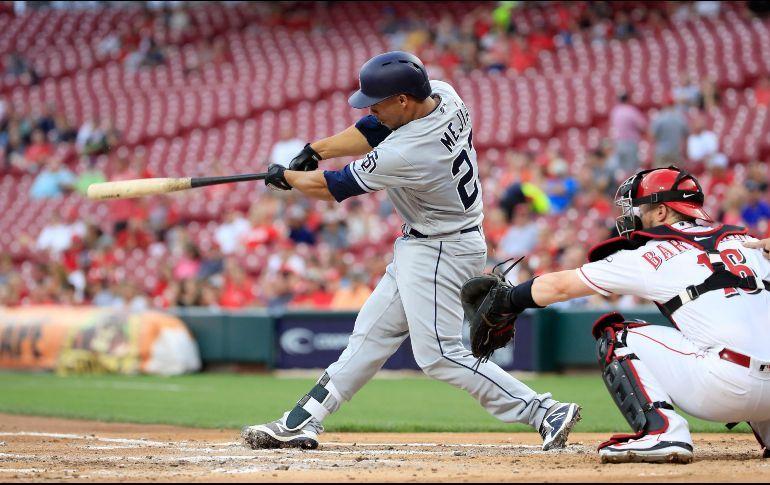 Francisco Mejía. Un joven catcher de mucho futuro adquirido a mitad de temporada procedente los Cleveland Indians.<br /> (Fuente: informador.mx) San Diego padres resumen temporada 2018 beisbol mlb