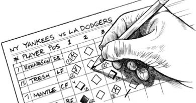 La Anotación del Béisbol: ¿Como se anota un juego?, Parte I