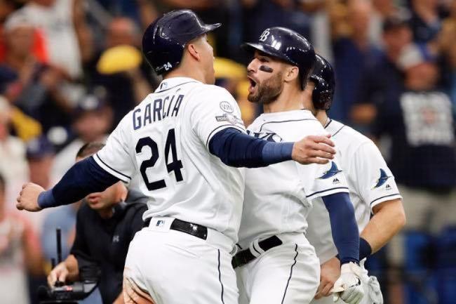 los rays siguen vivos houston astros series divisionales 2019 beisbol mlb