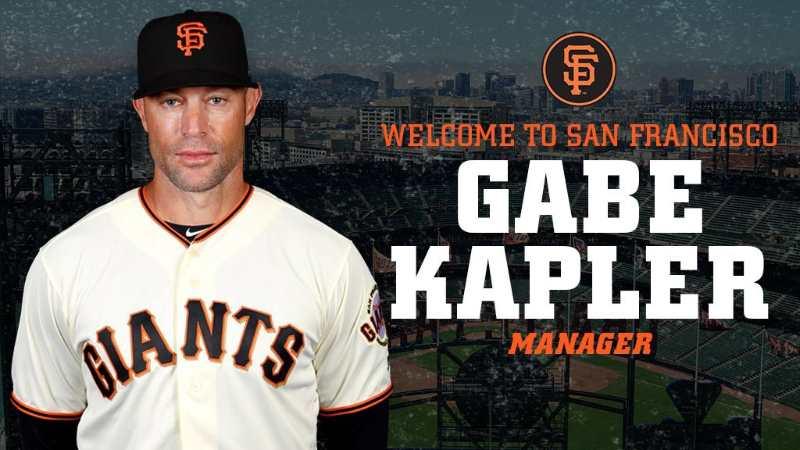 Gabe Kapler manager giants