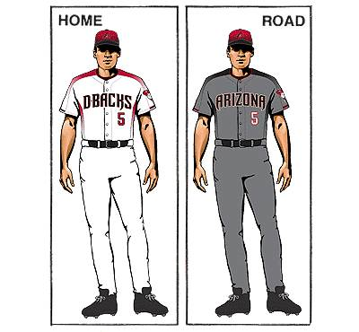 uniforme arizona diamondbacks beisbol mlb