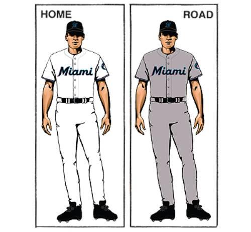 uniforme miami marlins mlb en español beisbol historia