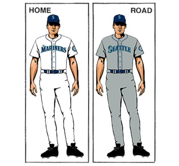uniforme seattle mariners mlb en español beisbol