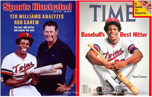 Rod Carew mejores jugadores de la historia del béisbol sports illustrated time magazine